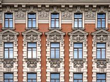 Facade of Hotel National. A Luxury Collection Hotel, Moscow, Russia Royalty Free Stock Images