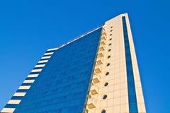 Facade of hotel Odessa. View on modern facade of hotel Odessa Stock Photography