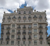 Facade of a hotel Royalty Free Stock Images