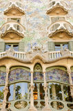 The facade of the house Casa Battlo Royalty Free Stock Images