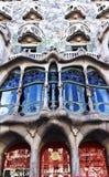 The facade of the house Casa Battlo Stock Photo