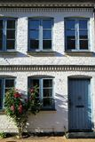 Facade of  house in Faaborg, Denmark Royalty Free Stock Photos
