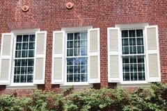 Facade of House in North Carolina. Country house façade architecture stock photos