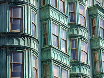 Facade of House in San Francisco Royalty Free Stock Images