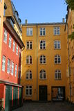 Facade of houses Stock Image