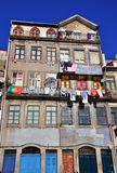 Facade of houses in Porto Royalty Free Stock Photos