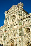Facade of Il Duomo, Florence, Italy Royalty Free Stock Photography