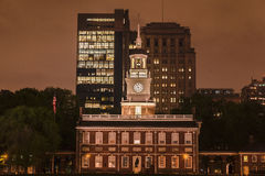 Independence Hall Philadelphia Royalty Free Stock Photography