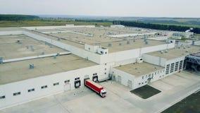 Industrial Building Exterior stock video footage