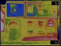 Facade Infrared Royalty Free Stock Image