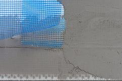 Facade insulation Layers Royalty Free Stock Photos