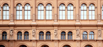 Facade of International art museum Bourse Royalty Free Stock Image