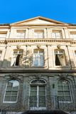 Facade of International museum of reformation at Geneva center. Facade of International museum of reformation on Saint Pierre Square at Geneva city center Royalty Free Stock Photo