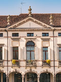 Facade of an Italian Venetian villa. Stock Photos