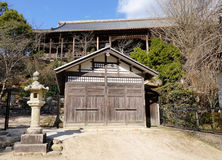 Facade of Japanese house Stock Photos