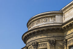 Facade of Kazan Cathedral. Royalty Free Stock Images