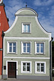 Facade in landshut, bavaria Royalty Free Stock Images