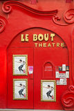 Facade of Le Bout Theatre Stock Photography