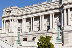 Facade of Library of Congress Washington DC Royalty Free Stock Photo