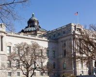 Facade of Library of Congress Washington DC Stock Images