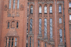 Facade of Liverpool University Victoria Building Stock Image