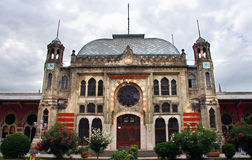 Facade of Lounge of Sirkeci railway station Royalty Free Stock Photography