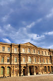 Facade of the Louvre Royalty Free Stock Photography
