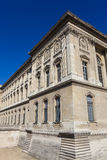Facade of the Louvre museum, Paris Royalty Free Stock Photography