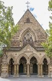 The facade of the magnificent Pilgrim Uniting Church in Adelaide, Southern Australia. Oceania stock photos