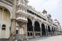 Facade of Maharaja's Palace in Mysore, Karnataka India Stock Photos