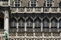 Facade of Maison du Roi (The King's House or Het Broodhuis) Loca Stock Photography