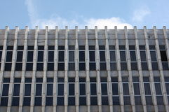 facade malaga moderna spain Arkivfoto