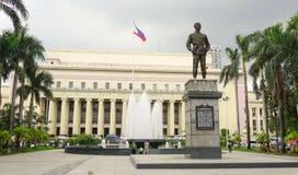 Facade of Manila Central Post Office Stock Photos