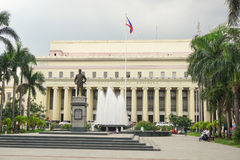 Facade of Manila Central Post Office Royalty Free Stock Photography