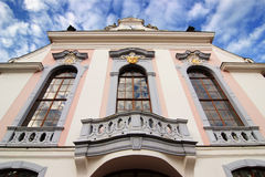 Facade of a mansion Royalty Free Stock Image