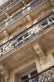 Facade of a mansion Royalty Free Stock Photos