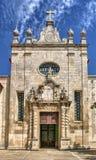 Facade of matriz church of Aveiro Royalty Free Stock Images