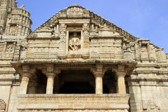 Facade of Meera Temple Stock Photography