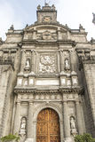 Facade of the Metropolitan Cathedral in Mexico City - Mexico. North America Royalty Free Stock Images