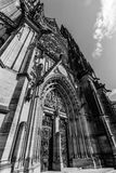 Facade of the Metropolitan Cathedral of Saints Vitus Royalty Free Stock Photos