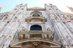 Facade of the Milan Cathedral, Italy Stock Photos