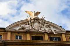 Facade of the Minister of Economy and Finance Royalty Free Stock Images