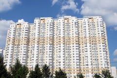 Facade of modern apartment building Stock Photography