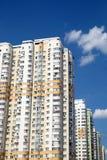 Facade of modern apartment buildings Stock Photo