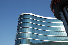 The facade of a modern building Royalty Free Stock Photography