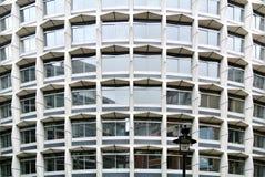 Facade of modern building. The facade of modern building Stock Image