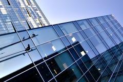 Facade of modern building Stock Photo