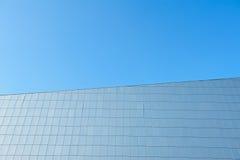 Facade of a modern building. Royalty Free Stock Photo
