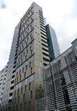 Facade of the modern  building. The facade of the modern building Stock Photo