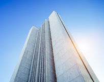 Facade of a modern building. In Russia Stock Images